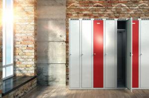 Gardarobe locker
