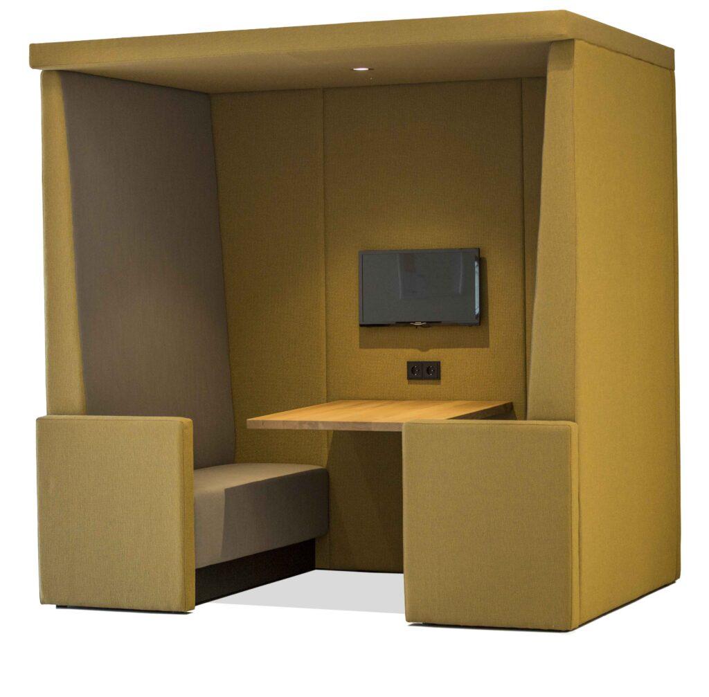 stilte werkplek de cube