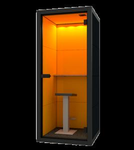 Telefooncel kantoor small oranje